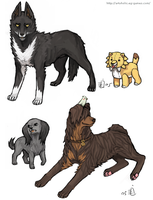 Bleach Doggies 6 by emlan