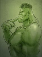 Hulk luban by redgvicente