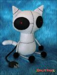 Robot Cat by plushrooms