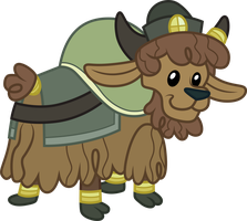 Young Yak by CloudyGlow