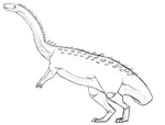 Plateosaurus by YellowDelilah1993