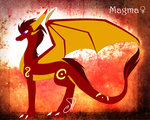 Magma Ref. by SolarPaintDragon