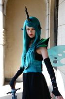 Queen Chrysalis I by SewingInTheRain