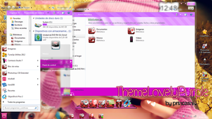 Theme W7 lovelyPurple by princesni