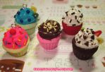 Custom Scented Cupcake Charms by pinknikki