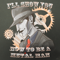 SPG: Show you how to be a metal man by Nevheera