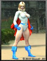 Powergirl by Maxwell-3D