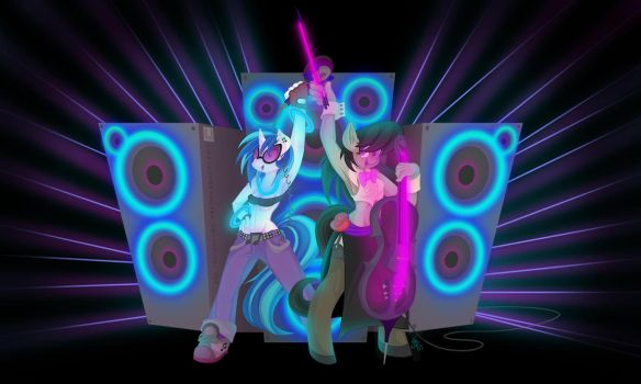 Melodic Vinyl - Ready to Party by FallenInTheDark