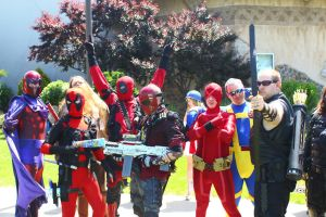 ColossalCon 2014 - Marvel Photoshoot 01 by VideoGameStupid
