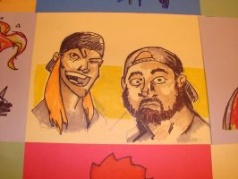Jay and Silent Bob by wikkidwikkid