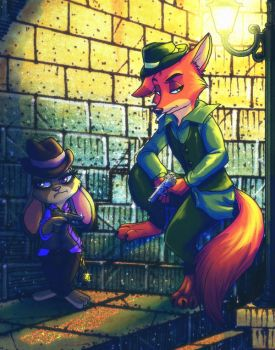Gangster Nick and Judy by Jessica-Rae-3