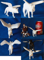 Customizable winged wolf model SOLD by FrostCoveredFields