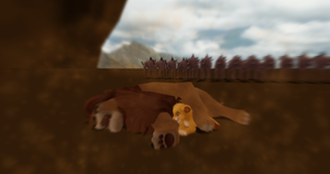 MMD Newcomer DEAD mufasa + DL by Valforwing