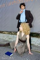 Doctor Who and River Song 3 by Kura-Kitsune