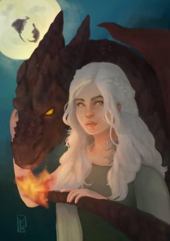 Mother Of Dragons by reemofabulous