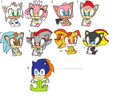 Lil--Angels' Sonic kids by sweetheart1012
