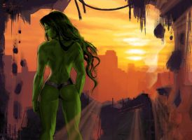 She-Hulk-3-by-msonia by cerebus873