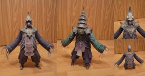 Papercraft: Usurper King Zant by RememberingChildhood