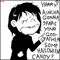Halloween Candy For Sirius by caitlin-t