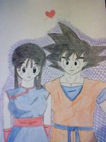 monday:goku x chichi by pandagirl702