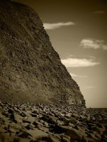 kimmeridge cliff by awjay