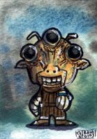 Ree-Yees Chibi Sketch Card by geralddedios