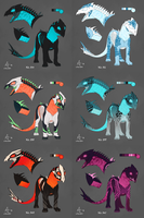 Core Hound adoptables [0/6] by xxFuria