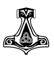 Assassin's Creed Norwegian Thor's Hammer Insignia by Morder-Productions