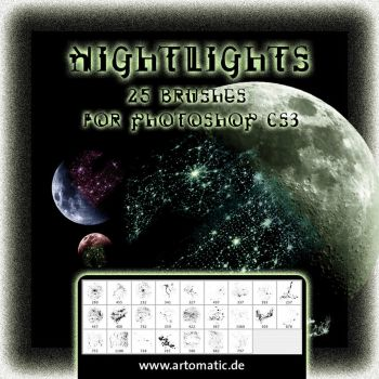 25 Nightlights Brushes by gusti-boucher
