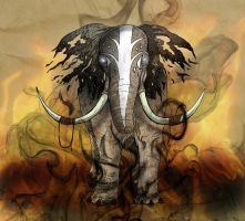 Elephant Spirit by Marcynuk
