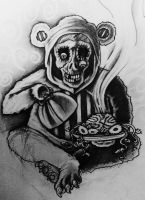 Brains..it's what's for dinner by VanZanto