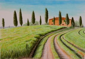 Tuscany - Copic Markers by 6re9
