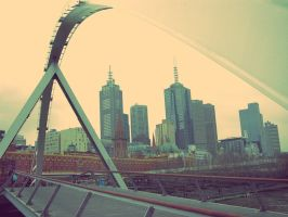 Portrait of Melbourne by postaldude66