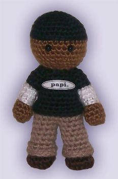 Amigurumi Collins from RENT by ShadyCreations