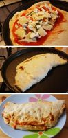 Rolled Pizza by lidaC