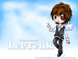 Angel Leeteuk Wallpaper by Chocolate-Cocoa