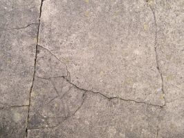 Concrete cracked 4 by artboy2007