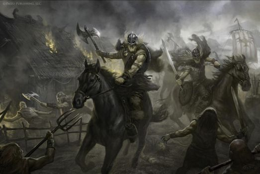 Vikings attack by TARGETE