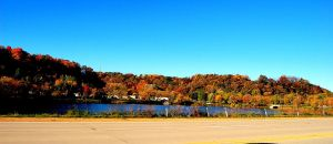 Autumn at the Lake by moonlightrose44
