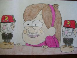 Mabel is watching you by AJLeefan4life