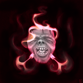 The Undead Mask by Gela-G-I-S-Gela