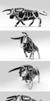 Mechanical bull by Mad-pencil