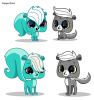 LPS- Sunil/Pepper Kits by bristlestream