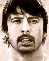 Dave Grohl by thomashua