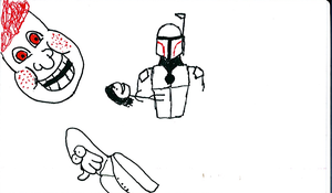 Doodles Fett and Zoidberg by SickSean