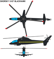 Sikorsky S-67 Blackhawk by bagera3005