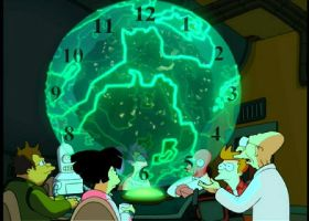 Futurama Clock Raw File by YdocNameloc