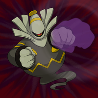 Commission: Dusknoir by Nukeleer