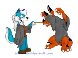 Sarri Potter and the Demented by littlebluewolf
