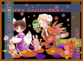 Love genres in halloween by shibababa